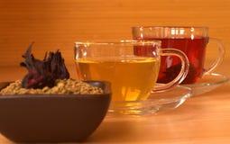 Traditional egyptian tea helba royalty free stock photos