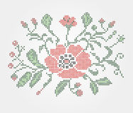 Traditional embroidery. Made in the Ukrainian style Stock Photography