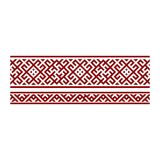 Traditional embroidery. Vector illustration of ethnic seamless ornamental geometric patterns for your design.  vector illustration