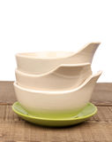 Traditional empty  bowl Royalty Free Stock Image