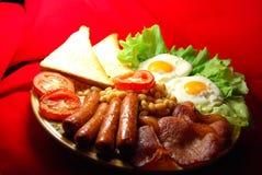 Traditional English Breakfast Royalty Free Stock Photo