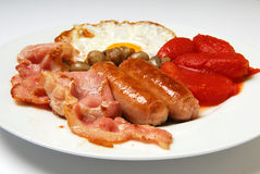Traditional english breakfast. Stock Photos