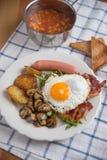 Traditional English Breakfast Royalty Free Stock Photos