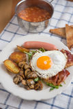 Traditional English Breakfast Stock Photos