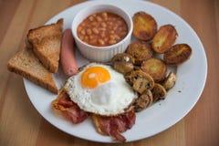 Traditional English Breakfast Stock Image