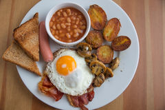 Traditional English Breakfast Royalty Free Stock Images