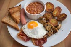 Traditional English Breakfast Stock Photography