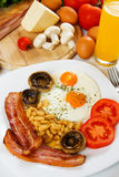 Traditional english breakfst Stock Photography