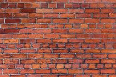 Traditional English brick wall Stock Photography
