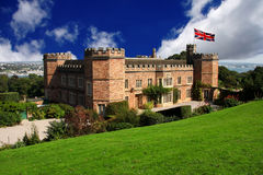 Traditional english castle,cornwall Stock Photos