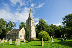 Traditional English Church Stock Photo