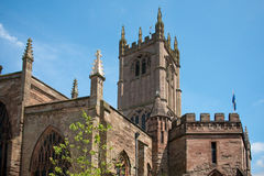 Traditional English Church. Showing tower Royalty Free Stock Photography