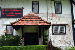 A traditional English cottage at Cameron Highlands, Malaysia Royalty Free Stock Photo