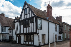 Traditional English cottage in Suffolk, UK Royalty Free Stock Image