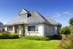 Traditional english detached house royalty free stock photography