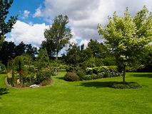 Traditional English garden in summer Royalty Free Stock Photography
