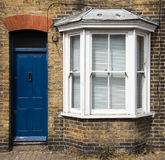 Traditional English house front entrance Royalty Free Stock Photography