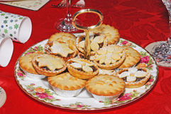 Traditional English mince pies. Royalty Free Stock Images