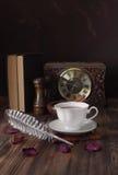 Traditional English 5 o& x27;clock tea. Royalty Free Stock Photography