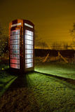 Traditional english phonebox Royalty Free Stock Photo