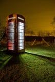 Traditional english phonebox Royalty Free Stock Photo