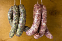 Traditional English Pork Sausages Stock Images