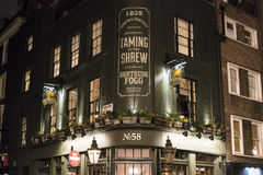 Traditional English Pub in London SOHO district -  London UK Stock Images