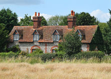Traditional English Rural Cottage Stock Photo