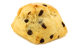 Traditional english scone with chocolate chips Royalty Free Stock Photography