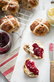 Traditional english scones Royalty Free Stock Photography