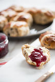 Traditional english scones Royalty Free Stock Images