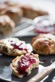 Traditional english scones Royalty Free Stock Photos