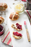 Traditional english scones Stock Photo