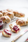 Traditional english scones Stock Photography