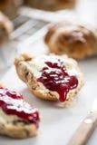 Traditional english scones Stock Image