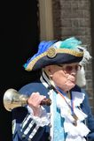 Traditional English Town crier with Bell Royalty Free Stock Photos