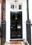 Traditional English victorian front door Stock Photos