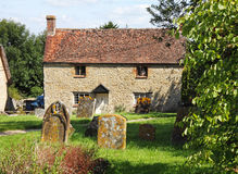 Traditional English Village Cottage Stock Image