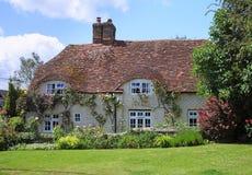 Traditional English Village Cottgae Royalty Free Stock Photo