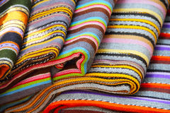 Traditional estonian colorful textile Royalty Free Stock Image