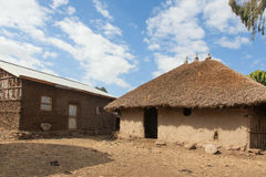 Traditional Ethiopian house Royalty Free Stock Photo