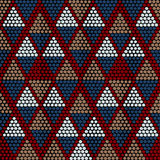 Traditional Ethnic African Ornament. Seamless vector pattern. Be Royalty Free Stock Photography