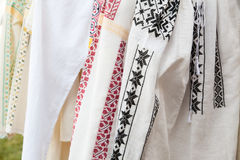 Traditional ethnic shirts Royalty Free Stock Photography