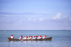 Traditional event in Okinawa Meijo Harleigh Royalty Free Stock Photography
