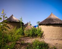 Traditional Ewe people village , Tatale region , Togo. Traditional Ewe people village near Tatale, Togo stock photos