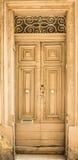 Traditional exterior door in Malta Stock Photos