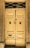 Traditional exterior door in Malta Royalty Free Stock Photo