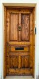 Traditional exterior door in Malta Royalty Free Stock Image