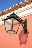 Traditional exterior lamp Stock Photos