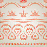 Traditional fabric pattern Stock Photography